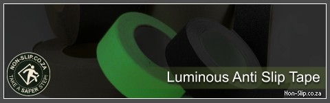 Anti-slip Luminous (glow in the dark) Grit Tape