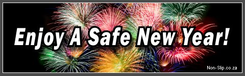 Enjoy A Safe, Slip Free, New Year