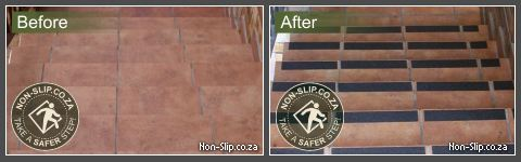 Anti-Slip Tape for Steps – Solving the perpetual problem of slippery stairs saved a community!