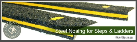 Steel Nosing For Industrial Steps
